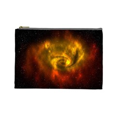 Galaxy Nebula Space Cosmos Universe Fantasy Cosmetic Bag (Large)