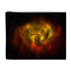 Galaxy Nebula Space Cosmos Universe Fantasy Cosmetic Bag (xl)