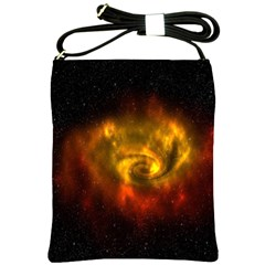 Galaxy Nebula Space Cosmos Universe Fantasy Shoulder Sling Bags