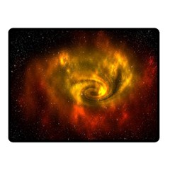 Galaxy Nebula Space Cosmos Universe Fantasy Fleece Blanket (small)