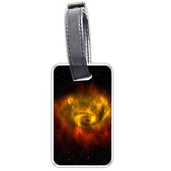 Galaxy Nebula Space Cosmos Universe Fantasy Luggage Tags (one Side)