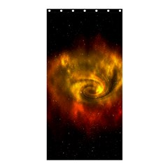 Galaxy Nebula Space Cosmos Universe Fantasy Shower Curtain 36  X 72  (stall)