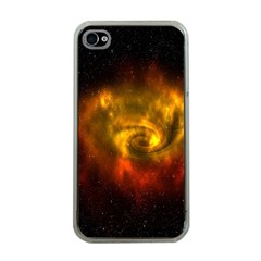 Galaxy Nebula Space Cosmos Universe Fantasy Apple Iphone 4 Case (clear)