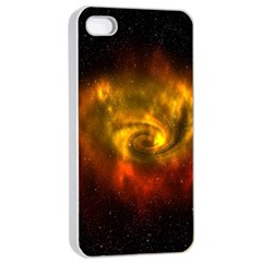 Galaxy Nebula Space Cosmos Universe Fantasy Apple Iphone 4/4s Seamless Case (white)
