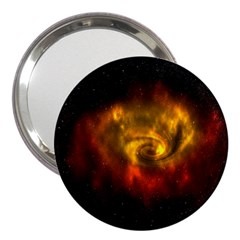 Galaxy Nebula Space Cosmos Universe Fantasy 3  Handbag Mirrors
