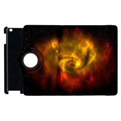 Galaxy Nebula Space Cosmos Universe Fantasy Apple Ipad 2 Flip 360 Case
