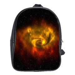 Galaxy Nebula Space Cosmos Universe Fantasy School Bags (xl)