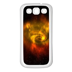 Galaxy Nebula Space Cosmos Universe Fantasy Samsung Galaxy S3 Back Case (white)