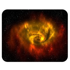 Galaxy Nebula Space Cosmos Universe Fantasy Double Sided Flano Blanket (medium)