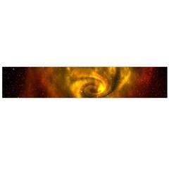 Galaxy Nebula Space Cosmos Universe Fantasy Flano Scarf (large)