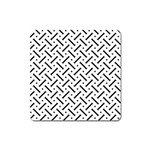 Geometric Pattern Square Magnet Front