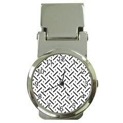 Geometric Pattern Money Clip Watches