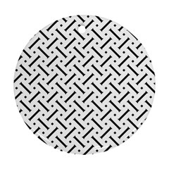 Geometric Pattern Round Ornament (two Sides)