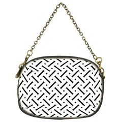 Geometric Pattern Chain Purses (one Side)
