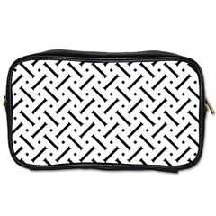 Geometric Pattern Toiletries Bags 2 Side
