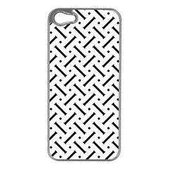 Geometric Pattern Apple Iphone 5 Case (silver)