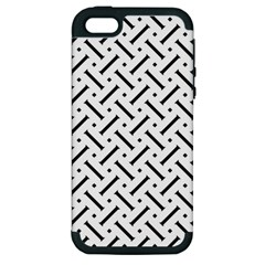 Geometric Pattern Apple Iphone 5 Hardshell Case (pc+silicone)