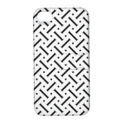 Geometric Pattern Apple Iphone 4/4s Hardshell Case With Stand