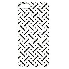 Geometric Pattern Apple Iphone 5 Hardshell Case With Stand