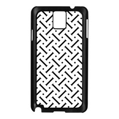 Geometric Pattern Samsung Galaxy Note 3 N9005 Case (black)