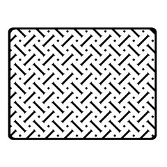 Geometric Pattern Double Sided Fleece Blanket (small)
