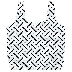 Geometric Pattern Full Print Recycle Bags (l)