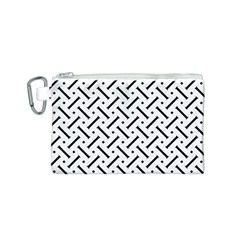Geometric Pattern Canvas Cosmetic Bag (s)