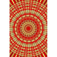 Gold And Red Mandala 5 5  X 8 5  Notebooks