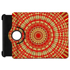 Gold And Red Mandala Kindle Fire Hd 7