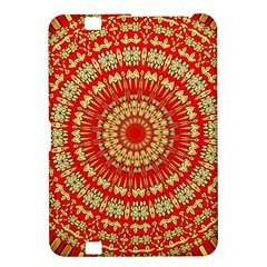 Gold And Red Mandala Kindle Fire Hd 8 9