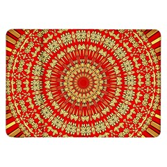 Gold And Red Mandala Samsung Galaxy Tab 8 9  P7300 Flip Case