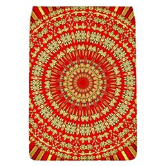 Gold And Red Mandala Flap Covers (l)