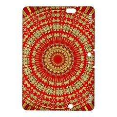 Gold And Red Mandala Kindle Fire Hdx 8 9  Hardshell Case