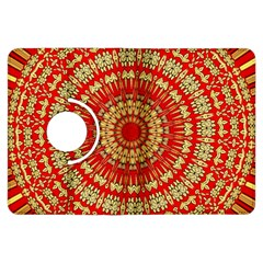 Gold And Red Mandala Kindle Fire Hdx Flip 360 Case