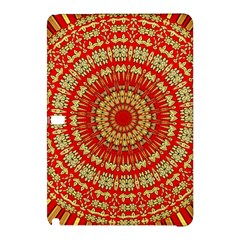 Gold And Red Mandala Samsung Galaxy Tab Pro 12 2 Hardshell Case