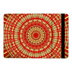 Gold And Red Mandala Samsung Galaxy Tab Pro 10 1  Flip Case