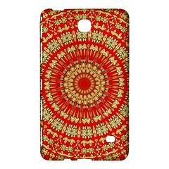 Gold And Red Mandala Samsung Galaxy Tab 4 (7 ) Hardshell Case