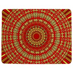 Gold And Red Mandala Jigsaw Puzzle Photo Stand (Rectangular)