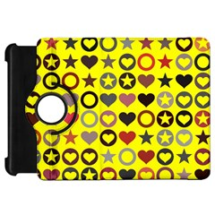 Heart Circle Star Seamless Pattern Kindle Fire Hd 7