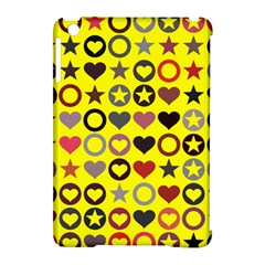 Heart Circle Star Seamless Pattern Apple Ipad Mini Hardshell Case (compatible With Smart Cover)