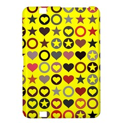 Heart Circle Star Seamless Pattern Kindle Fire Hd 8 9