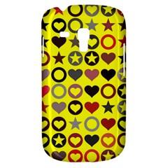 Heart Circle Star Seamless Pattern Galaxy S3 Mini