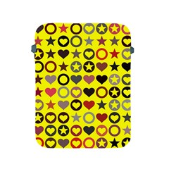 Heart Circle Star Seamless Pattern Apple Ipad 2/3/4 Protective Soft Cases