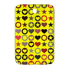 Heart Circle Star Seamless Pattern Samsung Galaxy Note 8 0 N5100 Hardshell Case