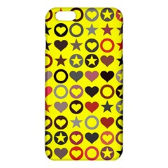 Heart Circle Star Seamless Pattern Iphone 6 Plus/6s Plus Tpu Case