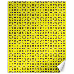 Heart Circle Star Seamless Pattern Canvas 16  X 20