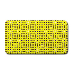 Heart Circle Star Seamless Pattern Medium Bar Mats