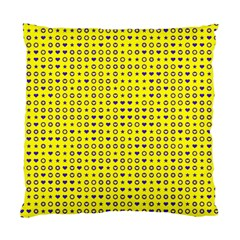 Heart Circle Star Seamless Pattern Standard Cushion Case (two Sides)
