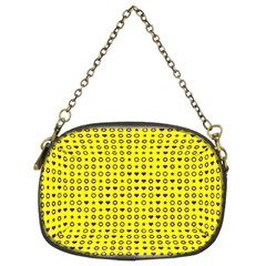 Heart Circle Star Seamless Pattern Chain Purses (two Sides)