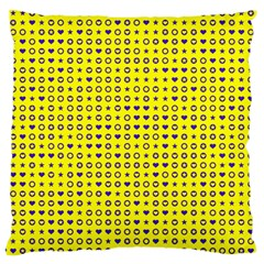Heart Circle Star Seamless Pattern Large Cushion Case (one Side)